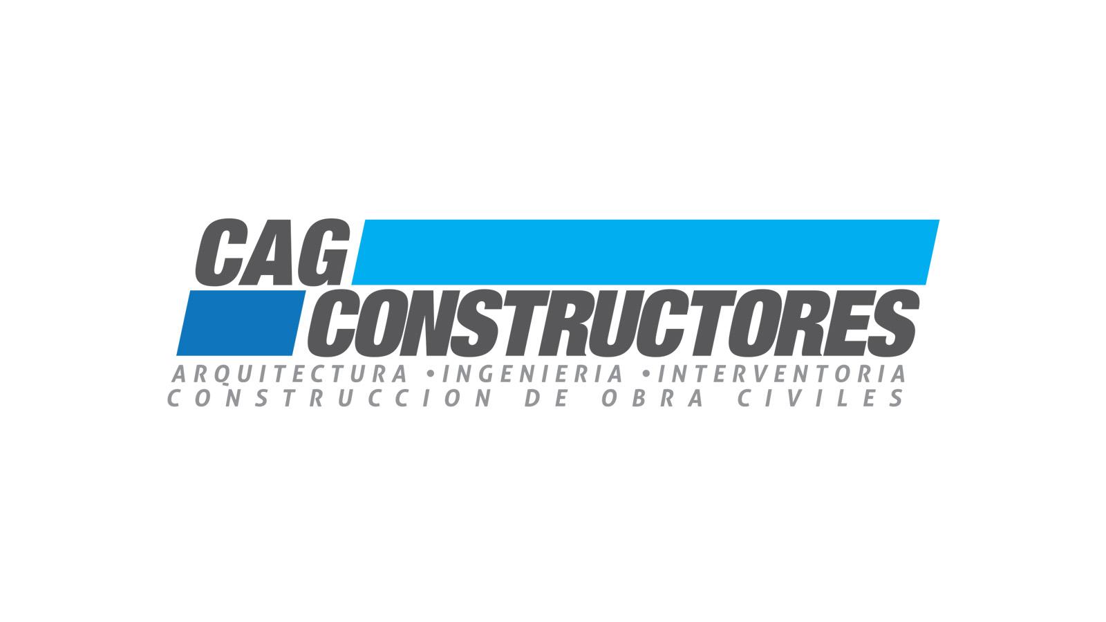 CAG Constructores logo design