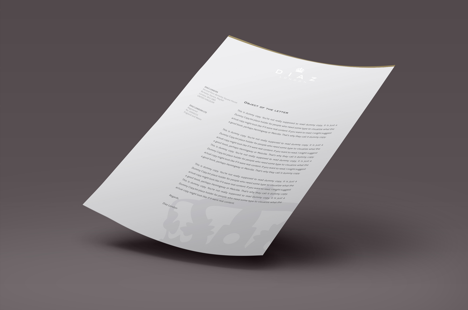 sublime-digital_branding_diaz-london-letterhead