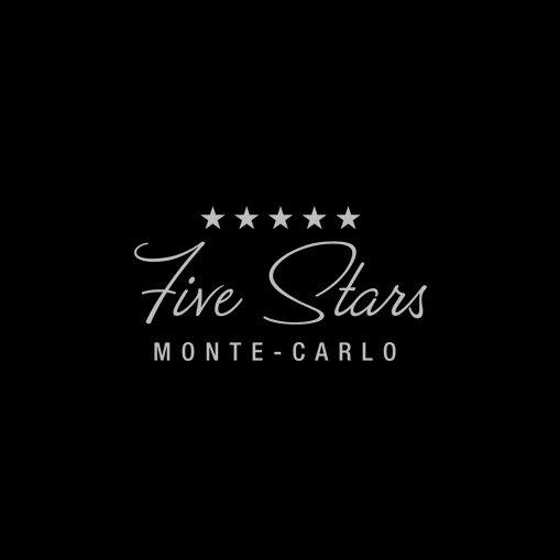 Five Stars Monte-Carlo logo design